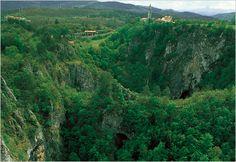 The Škocjan Caves, Slovenia. Stunning landscape.