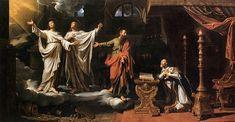 Philippe de Champaigne, Saints Gervase and Protase appearing to Saint Ambrose