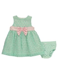 Hartstrings Sleeveless Woven Dress with Panty Set Organza Dress, New Baby Girls, Easter Dress, Lord & Taylor, New Baby Products, Summer Dresses, Dress Set, Sadie, Women