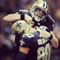 Drew Brees and Jimmy Graham! Love them!