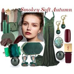 Smokey Soft Autumn by prettyyourworld on Polyvore featuring Schönheit, Gucci, MAC Cosmetics, Anastasia Beverly Hills, Surratt, Burt's Bees, Bobbi Brown Cosmetics, Yves Saint Laurent, Ciaté and Ippolita