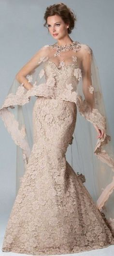 perfect winer wedding dress :D