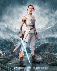Character studies for Star Wars Episode IX: The Rise of Skywalker. Film Star Wars, Rey Star Wars, Star Wars Fan Art, Star Wars Jedi, Star Trek, Meninas Star Wars, Daisy Ridley Star Wars, Images Star Wars, Star Wars Wallpaper