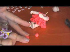 ▶ Polymer Clay Christmas Baby Girl - YouTube
