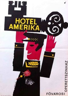 March 27 | World Theatre Day: Hotel America at the Capital Operett Theatre (Kovács, Vilmos - 1965)