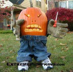 Mad Pumpkin
