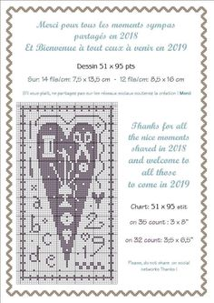 Cross Stitch Heart, Cross Stitch Alphabet, Embroidery Hearts, Cross Stitch Embroidery, Cross Stitch Designs, Cross Stitch Patterns, Cross Stitch Freebies, Needle Book, Couture