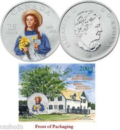 Anne of Green Gables coin Diana Barry, Anne Green, Road To Avonlea, Lm Montgomery, Anne Shirley, Christmas Fairy, Kindred Spirits, Prince Edward Island, Random Things