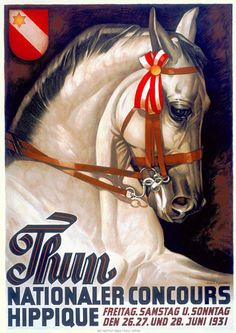 National Horse Show 1930s Vintage Posters and Prints