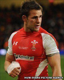 Lee Byrne - Wales rugby