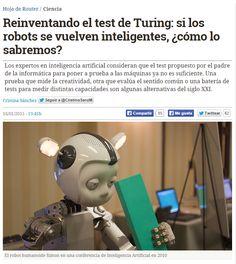 Reinventando el test de Turing: si los robots se vuelven inteligentes, ¿cómo lo sabremos? / @hojaderouter | #alanturing100 #sci #tech #inn