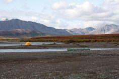 Camping on the Kugururok - Noatak National Preserve Alaska
