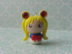 Kawaii Clay Sailor Moon Chibi by ~CraftyOlivia on deviantART