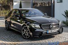 Mercedes Clase E AMG 43 4MATIC Negro Obsidiana Metalizado (2016) #KM77