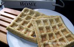 Marta Próbuje -  zdrowa kuchnia, zdrowe życie: Bezglutenowe gofry bez mąki i cukru - low carb
