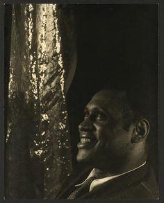 Van Vechten's Portrait of Paul Robeson. 1933