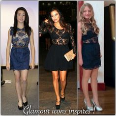 Glamour Icons:  Lace aways fashionable!   Glamour icons creation ...