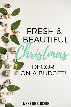 Where to shop for cute and affordable holiday decor in order to create the magical look you want! That's where my super secret post comes to the rescue! It is full of decor ideas that are just one click away and it is just for my exclusive group of insi Christmas On A Budget, All Things Christmas, Christmas Crafts, Christmas Decorations, Holiday Decor, Christmas Ideas, Christmas Tree, Christmas Activities For Kids, Super Secret