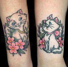 8bb6ffb65 Aristocats by @kastanada #swahilibobstattoo #stockholm #södermalm #tattoo  #disney #ink