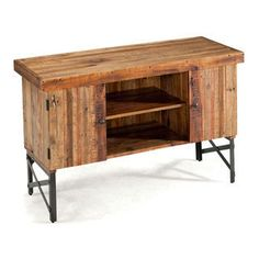 Emerald Chandler Reclaimed Wood Sofa Table | Overstock.com Shopping - The Best Deals on Coffee, Sofa & End Tables