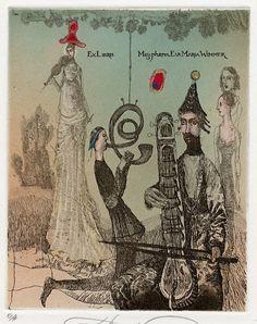 イメージ3 - Katarina Vavrova (6)の画像 - 蔵書票の世界 - Yahoo!ブログ