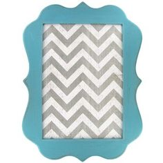 "Turquoise, White & Gray Chevron Message Board | Shop Hobby Lobby   magnetic message board Width: 13 1/2"" Height: 18"" Depth: 1/2   $13"