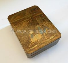 Japanese lacquer kogo incense box at www.Jcollector.com