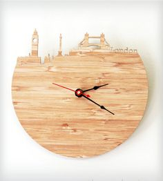 i need this. London Modern Wall Clock | Home Decor | iluxo Jewelry and Design | Scoutmob Shoppe | Product Detail