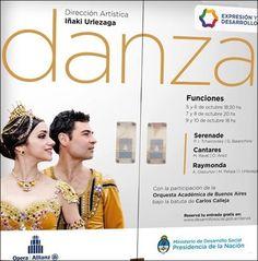 del 5 al 10 de octubre teatro Opera