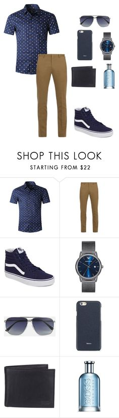 """Casual Day ~Jay"" by carlisafights ❤ liked on Polyvore featuring Paul Smith, Vans, Emporio Armani, Tom Ford, Valextra, Levi's, HUGO, men's fashion, menswear and Jay"