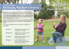 Developing Resilient Children is a popular course run through our Berri Office. Sessions starting soon!