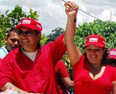 Denunciada en  Fiscalía, a la alcaldesa de municipio Zamora, Maigualida Santana, por la presunta venta de cemento y alimentos provenientes del contrabando.
