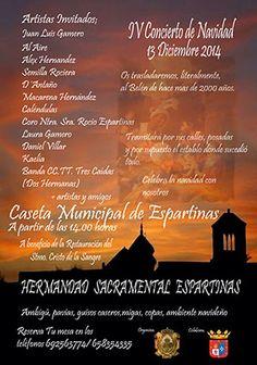 Concierto de Navidad de la Hermandad Sacramental de Espartinas