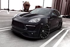PORSCHE CAYENNE Sports Line Black Bison Edition