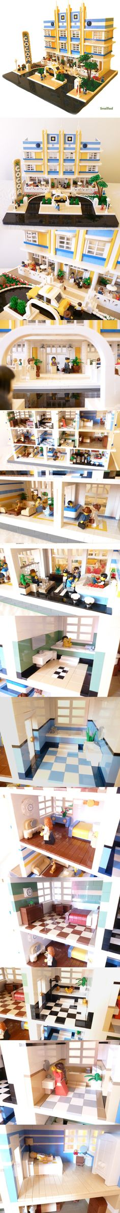 The Cocoa Hotel #LEGO #building #hotel