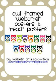 Middle Grades Maven: 50 FOLLOWERS FREEBIE and a New Product!