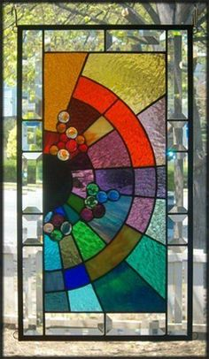 Bedazzler Stained Glass Window Panel