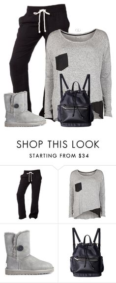 """""""Rainy Lazy Day"""" by sherbear1974 ❤ liked on Polyvore featuring Object Collectors Item, UGG and Coco's Liberty"""