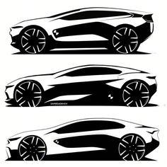 BMW side studies by Samir Sadikhov
