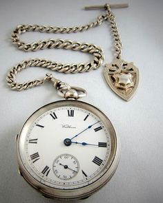 WALTHAM Pocket Watch and Chain 1913 at Ashton-Blakey Vintage Watches