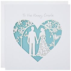 Laser cut card from a range called 'Lacie' by Paperlink Ltd