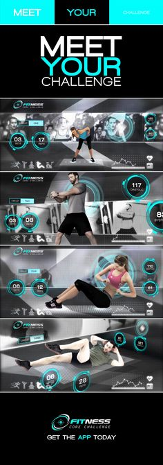 This projects visual theme brings a real world gym environment and the visual language used by many fitness apps under one umbrella, creating a hybrid live digital space. Brand Marketing Strategy, Creative Video, Media Design, Workout Challenge, Frames, Environment, Bring It On, Challenges, Language