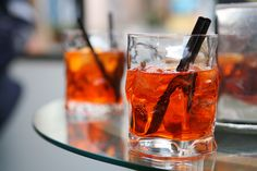 Italy has introduced to the world many wonderfully sumptuous drinks, from Treviso's prosecco wine, to Giuseppe Cipriani's Bellini, but perhaps none are as famous, or as aesthetically distinctive, as the Venetian spritz.
