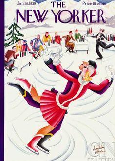 Constantin Alajálov | January 18, 1930 - New Yorker Cover Quiz