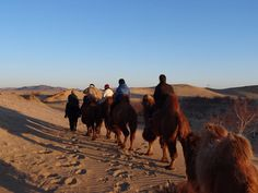 March trip to Elsen Tasarkhai - 80 km long sand dune located in Arkhangai province