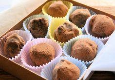Boozy Chocolate Truffles | alexandra's kitchen