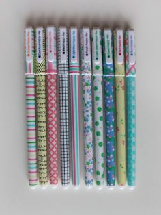 "Set de 10 Bolígrafos ""Primavera"" - Porvoletas"