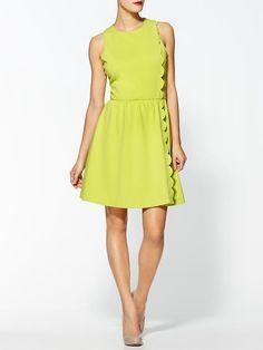Gorgeous scalloped dress!