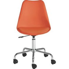 Buy Habitat Ginnie Office Chair - Orange at Argos.co.uk, visit Argos.co.uk to shop online for Office chairs