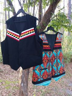 Your place to buy and sell all things handmade Native American Clothing, Native American Regalia, Cotton Vest, Cotton Fabric, Seminole Patchwork, Indian Skirt, Ribbon Skirts, Native Style, Beaded Collar